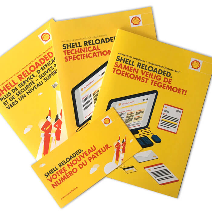 Shell Reloaded Internatinal comms